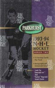 Hel Box 1993-94 Parkhurst Serie 2