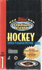 Hel Box 1993-94 Topps Stadium Club Serie 1