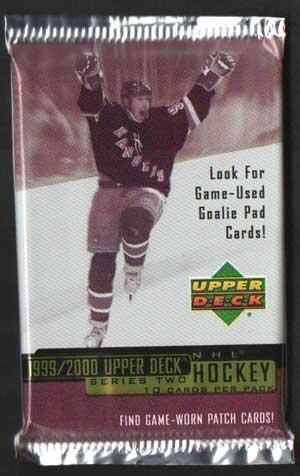 1st Paket 1999-00 Upper Deck Serie 2 Retail