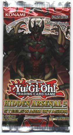Yu-Gi-Oh, Hidden Arsenal 5 Steelswarm Invasion, 1 Booster