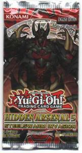 Yu-Gi-Oh, Hidden Arsenal 5 Steelswarm Invasion, 1 Booster