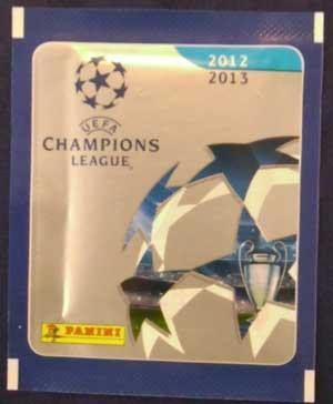 1 Paket, Panini Champions League Stickers 2012-13