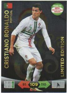 Limited Edition, 2013-14 Adrenalyn Road to the World Cup, Cristiano Ronaldo