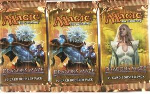 Magic, Dragons Maze, 3 Boosters
