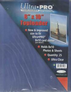 Toploader, 8 x 10 tum (ca 20,32 x 25,4cm), 1st