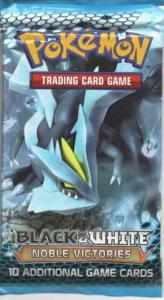 Pokémon, BW Noble Victories, 1 Booster