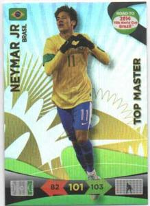 Top Master, 2013-14 Adrenalyn Road to the World Cup, Neymar Jr