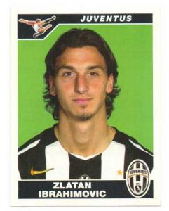 Zlatan Ibrahimovic 2004-05 Panini Stickers Calciatori #190