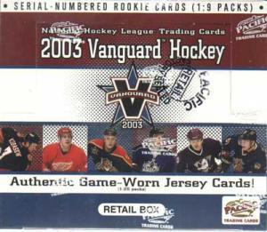 Hel Box 2002-03 Pacific Vanguard Retail
