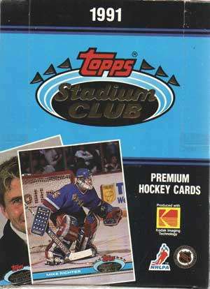Hel Box 1991-92 Topps Stadium Club