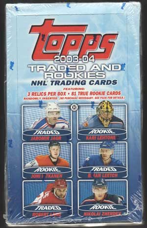 Hel Box 2003-2004 Topps Traded Hobby Hockey