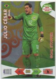 Goal Stoppers, 2013-14 Adrenalyn Road to the World Cup, Julio Cesar
