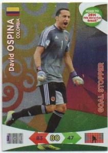 Goal Stoppers, 2013-14 Adrenalyn Road to the World Cup, David Ospina