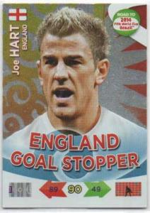 Goal Stoppers (England), 2013-14 Adrenalyn Road to the World Cup, Joe Hart