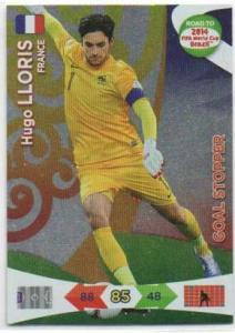 Goal Stoppers, 2013-14 Adrenalyn Road to the World Cup, Hugo Lloris