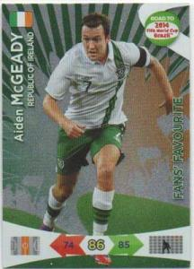 Fan Favourite, 2013-14 Adrenalyn Road to the World Cup, Aiden McGeady