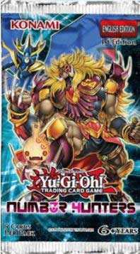 Yu-Gi-Oh, Number Hunters, 1 Booster (5 cards)