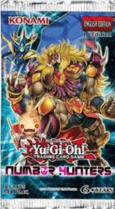 Yu-Gi-Oh, Number Hunters, 1 Booster (5 kort)