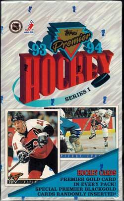 Hel Box 1993-94 Topps Premier s.1
