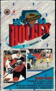 Sealed Box 1993-94 Topps Premier s.1