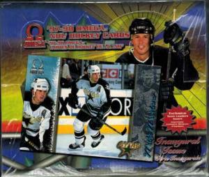 Sealed Box 1997-98 Pacific Omega Retail