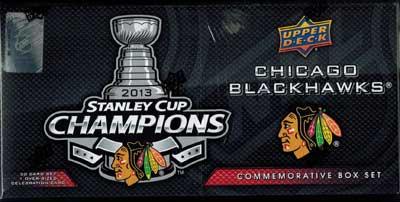 Sealed Box / Set 2012-13 Stanley Cup Champions, Chicago Blackhawks