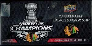 Sealed Box / Set 2012-13 Stanley Cup Champions, Chicago Blackhawks