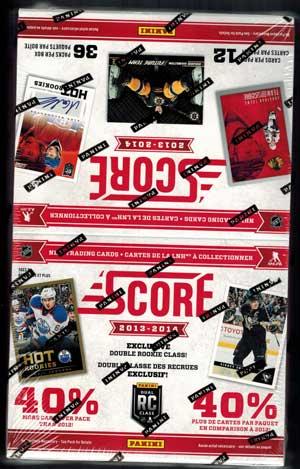 Sealed Box 2013-14 Panini Score
