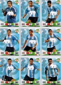 Base cards Argentina, 2013-14 Adrenalyn Road to the World Cup, Pick from list