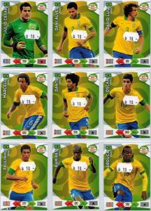 Base cards Brazil, 2013-14 Adrenalyn Road to the World Cup, Pick from list