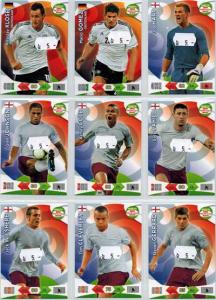 Base cards England, 2013-14 Adrenalyn Road to the World Cup, Pick from list