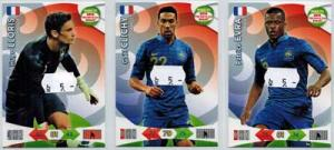 Base cards France, 2013-14 Adrenalyn Road to the World Cup, Pick from list