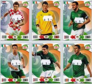 Base cards Ireland, 2013-14 Adrenalyn Road to the World Cup, Pick from list