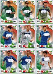Base cards Italy, 2013-14 Adrenalyn Road to the World Cup, Pick from list