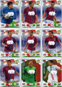Base cards Norway, 2013-14 Adrenalyn Road to the World Cup, Pick from list