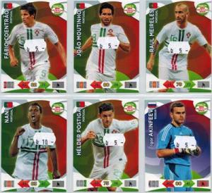 Base cards Portugal, 2013-14 Adrenalyn Road to the World Cup, Pick from list