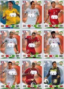 Base cards Switzerland, 2013-14 Adrenalyn Road to the World Cup, Pick from list