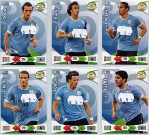 Base cards Uruguay, 2013-14 Adrenalyn Road to the World Cup, Pick from list
