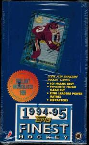 Sealed Box 1994-95 Topps Finest (Somewhat worn shrinwrap)