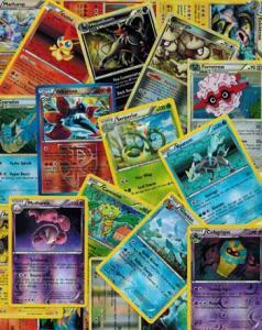 Coolcards Pokémon Holo Rare-mix, 10kort, alla kort holo eller reverse rare