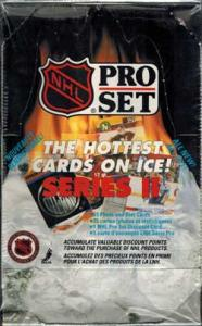 Sealed Box 1990-91 Pro Set Series 2