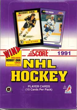 Hel Box 1991-92 Score Serie 1 (US)