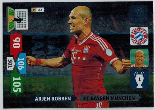 Game Changer, 2013-14 Adrenalyn Champions League, Arjen Robben