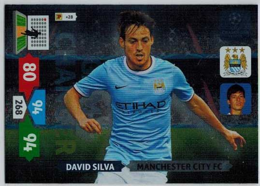 Game Changer, 2013-14 Adrenalyn Champions League, David Silva