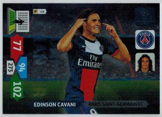 Game Changer, 2013-14 Adrenalyn Champions League, Edinson Cavani