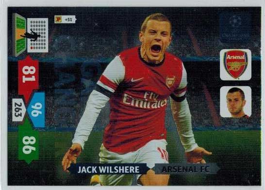 Game Changer, 2013-14 Adrenalyn Champions League, Jack Wilshere