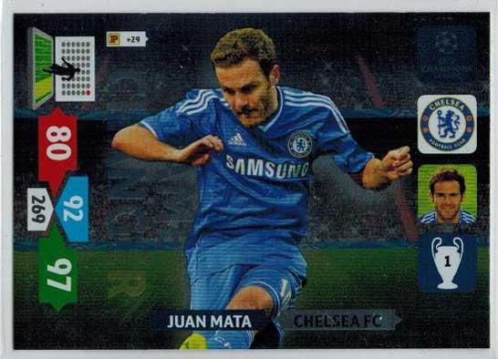 Game Changer, 2013-14 Adrenalyn Champions League, Juan Mata