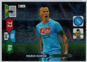 Game Changer, 2013-14 Adrenalyn Champions League, Marek Hamsik