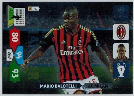 Game Changer, 2013-14 Adrenalyn Champions League, Mario Balotelli