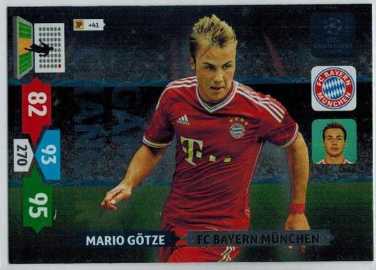 Game Changer, 2013-14 Adrenalyn Champions League, Mario Götze / Mario Gotze